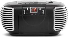 GPO Black CD & Cassette Player w/ AM/FM Radio - 1
