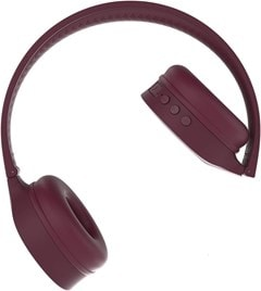Kygo A4/300 Burgundy Bluetooth Headphones - 2
