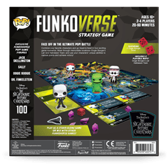 Funkoverse: The Nightmare Before Christmas Strategy Game (4 Pack) - 4