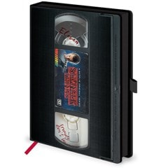 Stranger Things (S1) VHS Premium A5 Notebook - 3