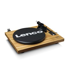 Lenco LS-500 Wood Turntable and Speakers - 2