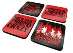Stranger Things: Phrases Coaster Set - 1