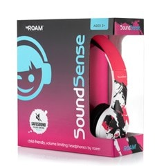 Roam Soundsense Pink Kids Headphones - 2