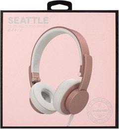 Urbanista Seattle Rose Gold Bluetooth Headphones - 4