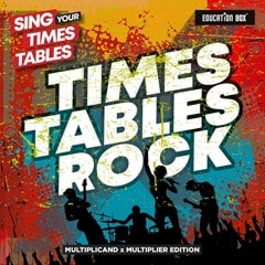 Sing Your Times Tables: Times Tables Rock (Multiplicand X Multiplier Edition) - 1