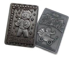 Fallout: Charisma Metal Perk Card - 3