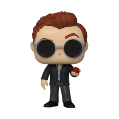 Crowley With Apple (1078) Good Omens Pop Vinyl (with Ice Pop Chase) - 1