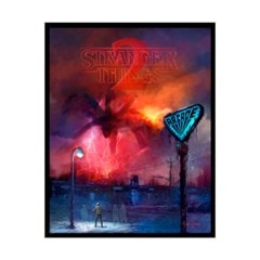 Stranger Things 2: Arcade (Glow in the Dark) Limited Edition Art Print - 1