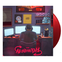 All Over the Place - Red Vinyl  - Includes Free Signed Print - 1
