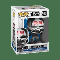 Wrecker (413) Clone Wars: Star Wars Pop Vinyl - 2