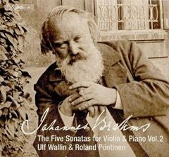 Johannes Brahms: The Five Sonatas for Violin & Piano - Volume 2 - 1