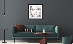 Debbie Harry: Text Me: Limited Edition Fine Art Print By Mike Edwards - 2