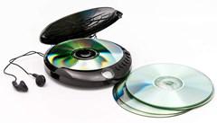 GPO Retro Black Portable CD Player - 2