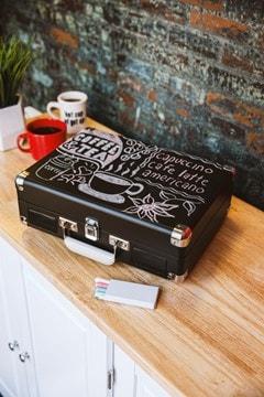 Crosley Cruiser Deluxe Chalkboard Black Turntable - 5