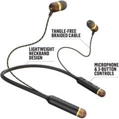 House Of Marley Smile Jamaica BT Brass Bluetooth Earphones (hmv Exclusive) - 3