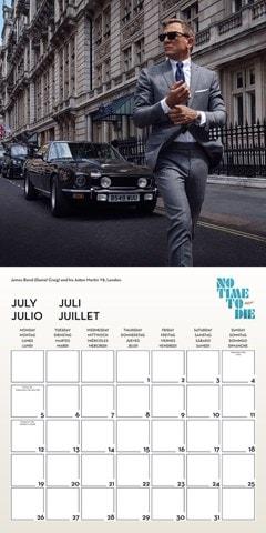 James Bond: No Time To Die Square 2021 Calendar - 2