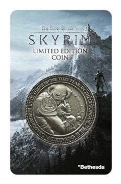 Skyrim: The Elder Scrolls V Limited Edition Coin - 2