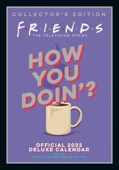 Friends A3 Deluxe 2022 Calendar - 1