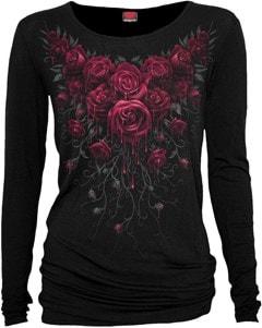 Spiral: Blood Rose: Long Sleeve Ladies Fit Tee (Extra Large) - 1