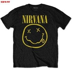 Nirvana: Yellow Smiley (Kids Tee) (3-4YR) - 1