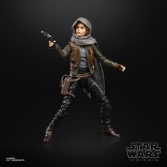 Jyn Erso Rogue One Star Wars Black Series Action Figure - 1