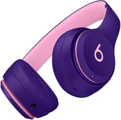 Beats By Dr Dre Solo 3 Wireless Pop Violet Headphones (Pop Collection) - 4