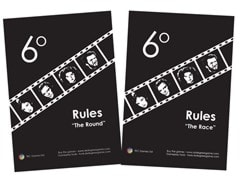 6 Degrees: Movie Connection Card Game - 6