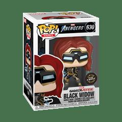 Black Widow (630) Avengers Gamerverse Marvel Pop Vinyl (Glow in the Dark Chase) - 4