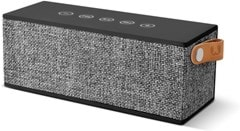 Fresh N Rebel Rockbox Brick Concrete Fabric Edition Bluetooth Speaker - 1
