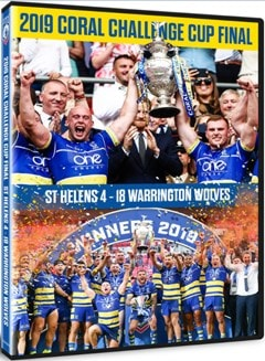 2019 Coral Challenge Cup Final - St Helens 4-18 Warrington Wolves - 1