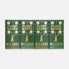 Wizards Magic Chocolate: Plant Based Gift Pack: Orange & Vanilla (Pack of 4) - 1