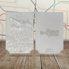 American Werewolf In London: Pub Sign Limited Edition Silver Plated Replica Collectible - 2