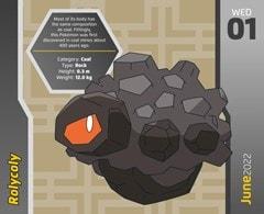 Pokemon Desk Block 2022 Calendar - 3