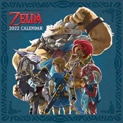 The Legend of Zelda: Square 2022 Calendar - 1