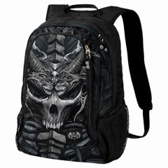 Skull Armour Backpack with Laptop Pocket - 1