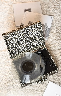 Crosley Cruiser Deluxe Leopard Turntable - 3