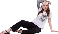 Pocket Kitten 4-Piece Women's Pyjama Set (Extra Large) - 3