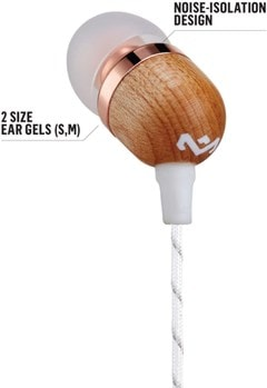 House Of Marley Smile Jamaica Copper Earphones W/Mic - 3