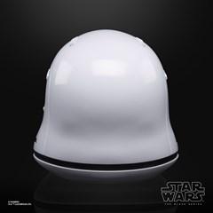 First Order Stormtrooper Electronic Helmet: Star Wars Black Series - 4