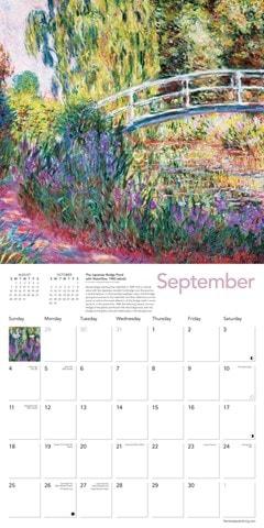 Monet's Waterlilies Square 2022 Calendar - 2