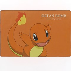 Pokemon (Charmander) Ocean Bomb: Orange Flavour Sparkling Water: Case of 24 - 1