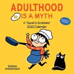 Adulthood is a Myth: Sarah's Scribbles Square 2022 Calendar - 1
