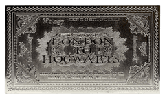 Harry Potter: Hogwarts Train Ticket Metal Replica (online only) - 3