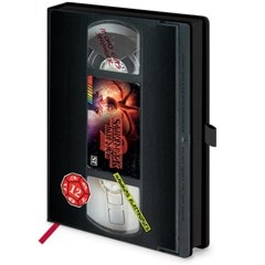 Stranger Things (S2) VHS A5 Premium Notebook - 3