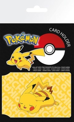 Pokemon: Resting Pikachu Card Holder - 1
