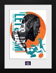 Space Jam 2: Let's Jam Framed Collector Print - 1