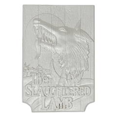 American Werewolf In London: Pub Sign Limited Edition Silver Plated Replica Collectible - 5