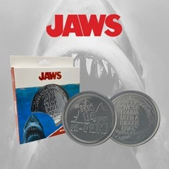 Jaws: Metal Embossed Coaster Set - 2