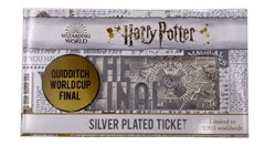 Harry Potter: Quidditch World Cup Ticket Metal Replica (online only) - 2