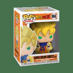Super Saiyan Goku: First Appearance (860) Dragon Ball Pop Vinyl - 2